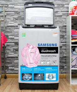 Máy giặt Samsung 10 kg WA10J5710SG/SV
